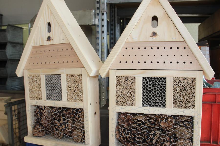 Neudorff Insektenhotels: Jedes Hotel ein Unikat