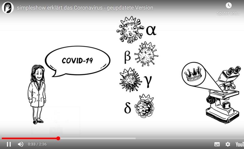Erklärvideo zum Coronavirus
