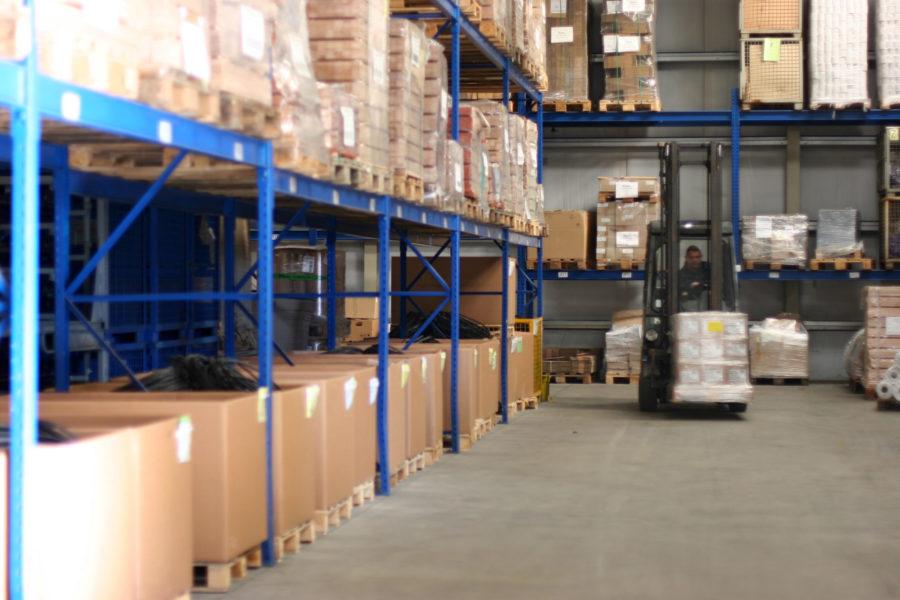 Montage, Verpackung und Logistik