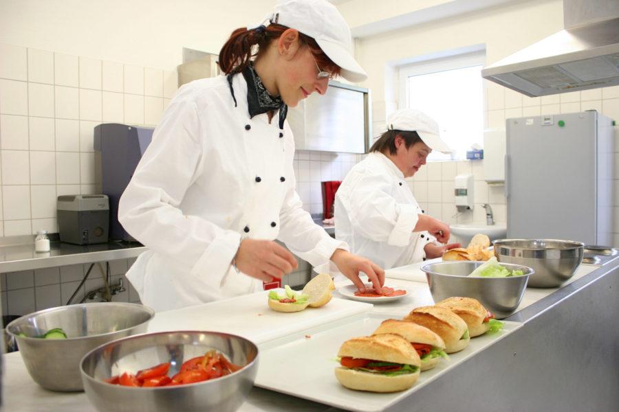 Küche und Bistro